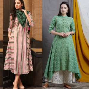 Pack Of 2 Causal Wear Kurtis