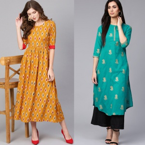 Pack Of 2 Designer Kurtis