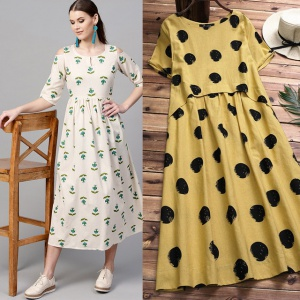 Pack Of 2 Party Wear Kurtis