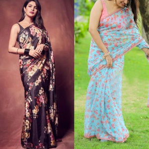 Pack Of 2 Celebrity Style Sarees