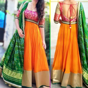 Festive Wear Designer Multi Color Suit