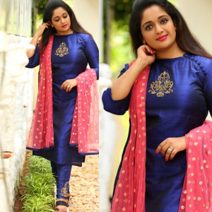 Blue Color Designer Party Wear Suit