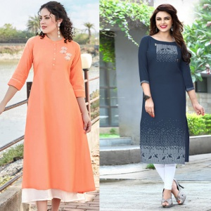 Combo Of 2 Casual Wear Designer Dresses