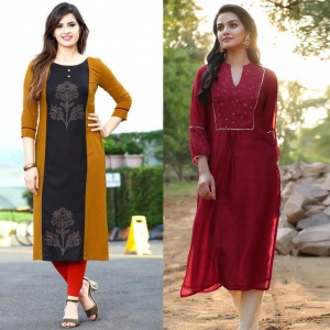 Combo Of 2 Casual Wear Kurtis